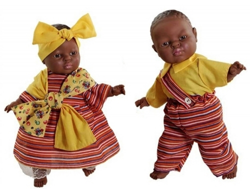 World Dolls - African Pair