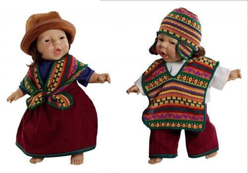 World Dolls - South American Pair