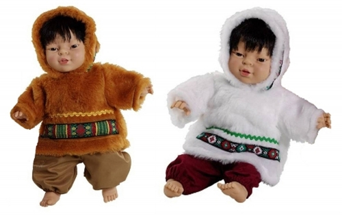 World Dolls- Eskimo Pair