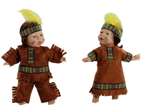 World Dolls - Native American Pair