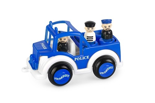 Jumbo Police Jeep With 3 Figures