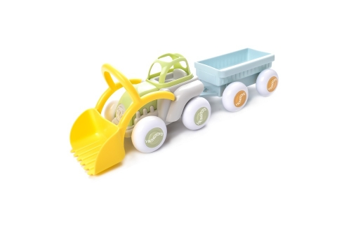 Viking Toys Ecoline Midi Tractor with Trailer