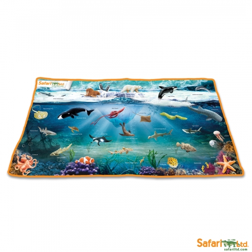 Safari Ltd Ocean Playmat