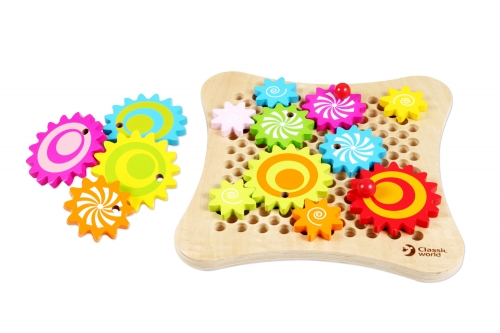 Classic World Wooden Gear Game