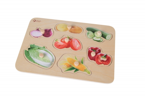 Classic World Vegetable Puzzle