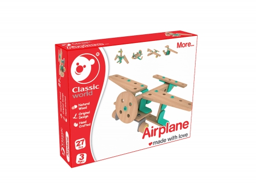 Classic World Builder Airplane