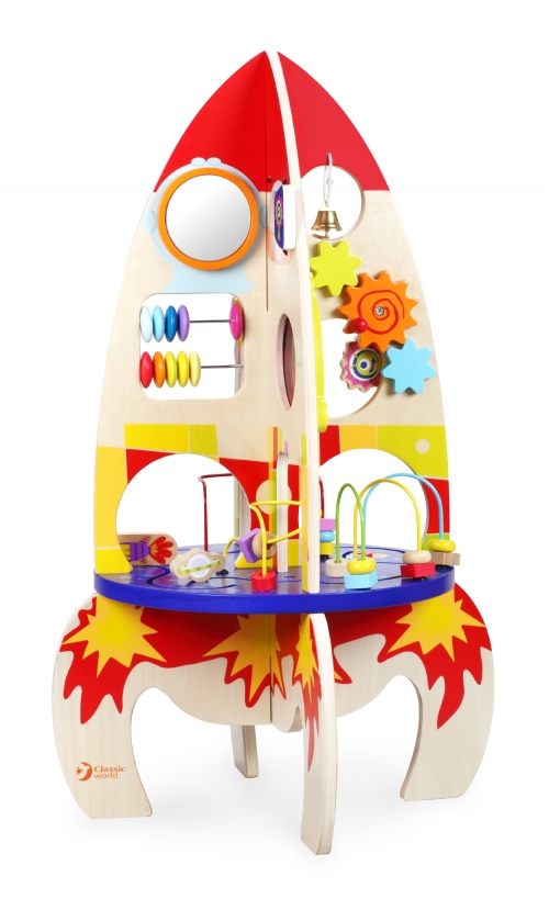 Classic World Multi Activity Rocket