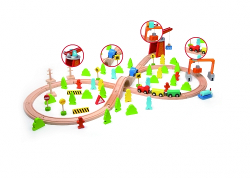 Classic World Train Set 75 Pc