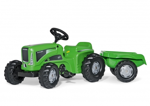 Rolly Kiddy Futura Tractor with Rolly Kid Trailer