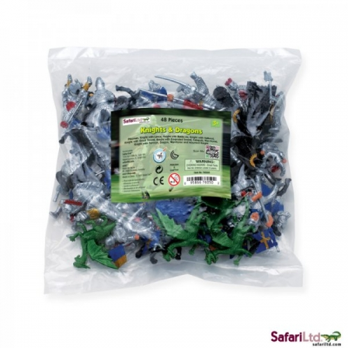 Safari Ltd Knights and Dragon Bulk Bag