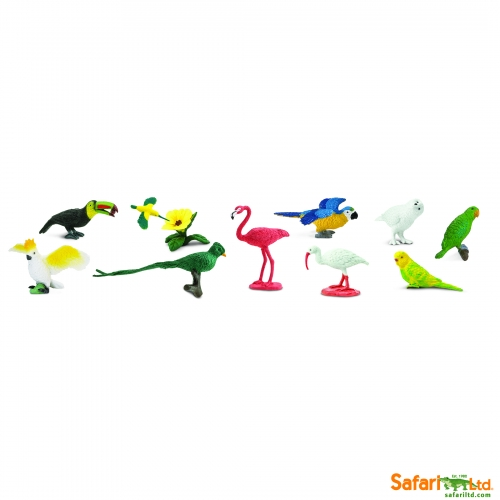 Safari Ltd Exotic Birds Bulk Bags