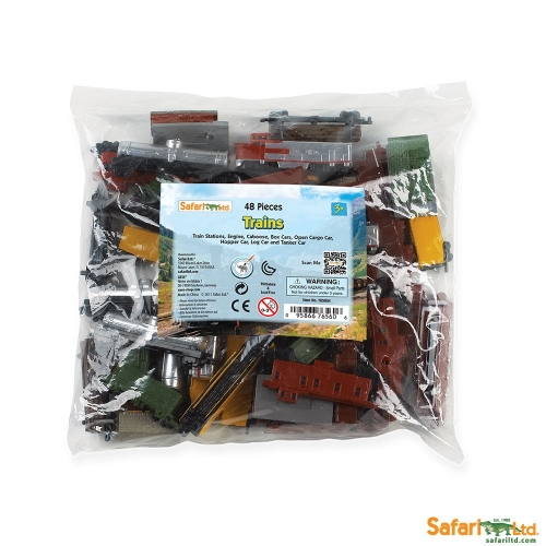 Safari Ltd Trains Bulk Bag