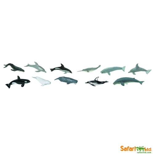 Safari Ltd Whales and Dolphins Bulk Bag