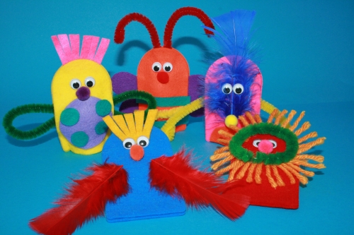 Bug Finger Puppets