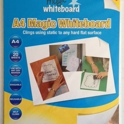 Magic whiteboard A4 Dry Erase Sheets