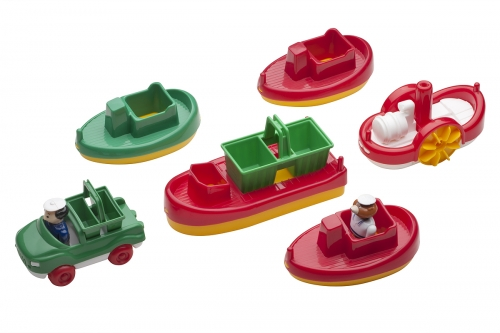 Aquaplay Boats - Pack 8