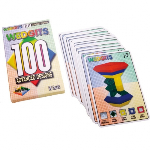 Wedgits Advanced Design Cards - 100 Cards