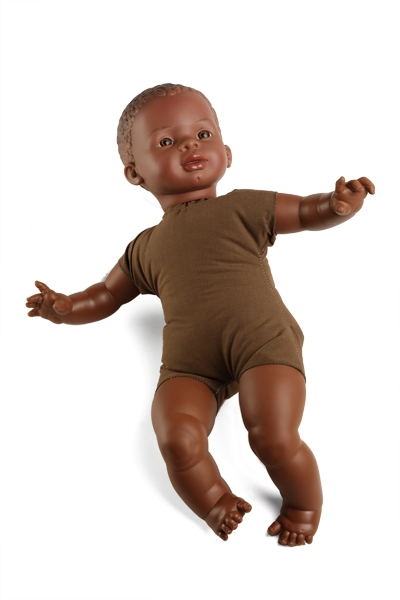 Multicultural Soft Bodied Doll – African Unisex
