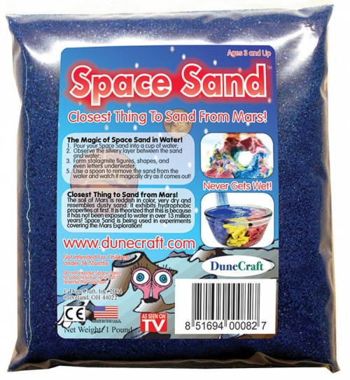 DuneCraft Space Sand 1 lb Blue