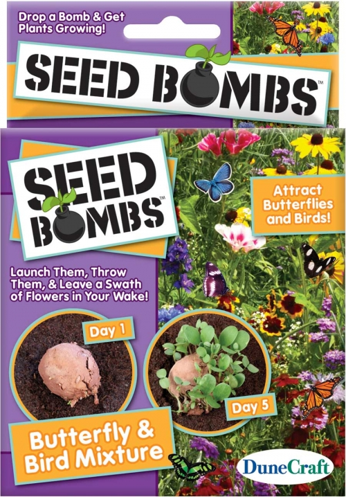 DuneCraft Butterfly & Bird Seed Bombs - Pack