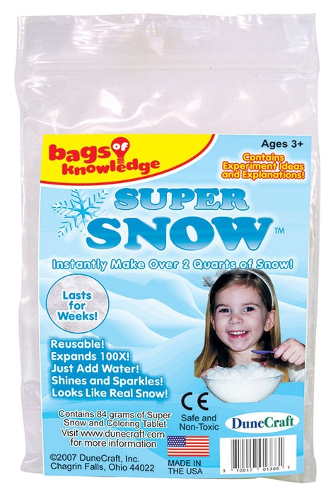 Bags of Knowledge - Super Snow