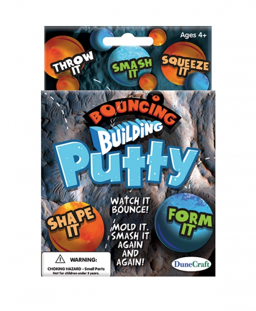 Bouncing Building Putty