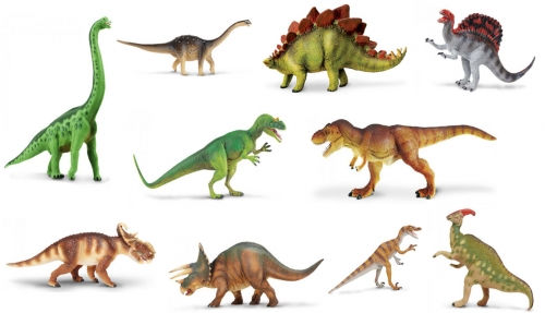 Safari Ltd Dinosaur Set – 10Pc
