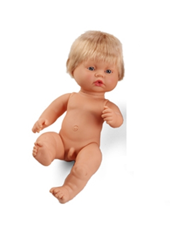 Multicultural Anatomical Dolls – European Boy
