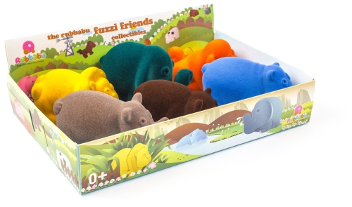 Rubbabu Wild Animals Set 6pc