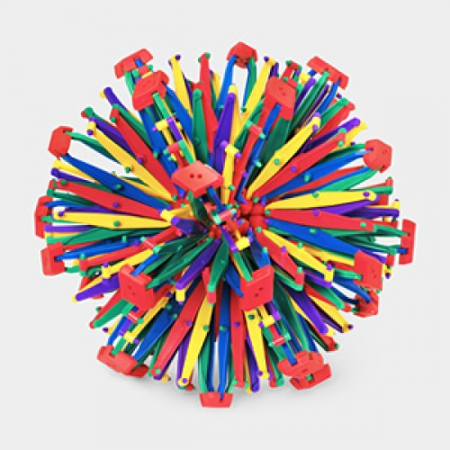 Hoberman Sphere - Rainbow