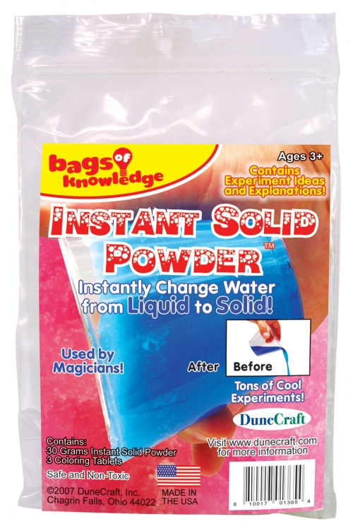 DuneCraft Bags of Knowledge - Instant Solid Powder