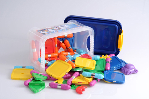 Kliky Magnetic School Set - 80 pc