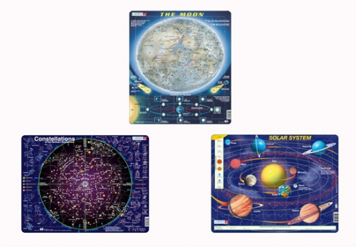Larsen Astronomy Puzzle Pack (set of 3)