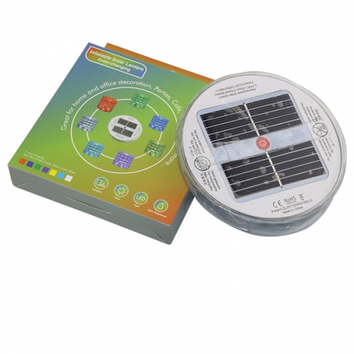 Inflatable Solar Light - Colour Changing