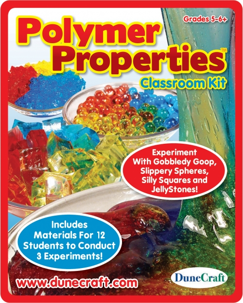 DuneCraft Polymer Properties Classroom Kit