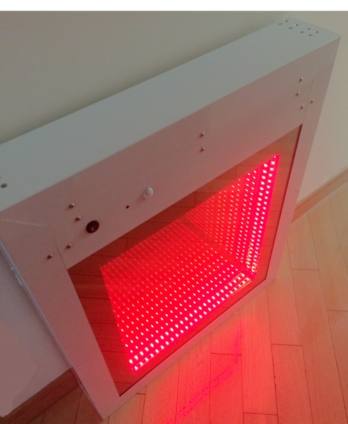 Interactive light and sound panel - Infinity