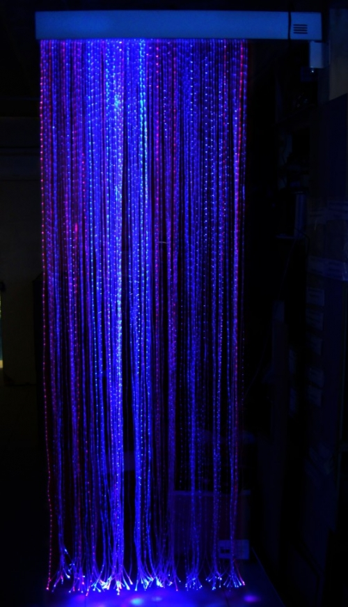 Fibre Optic Curtain (150 Fibers) with Interactive light source