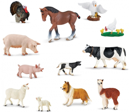 Safari Ltd Farm Animal Set
