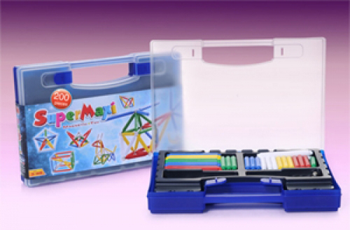 SuperMaxi Magnetic Education Set - 200 pc