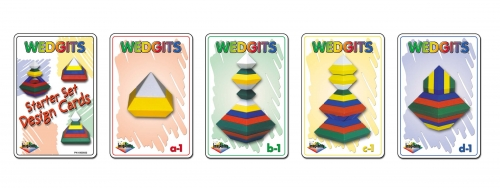 Wedgits Starter Set Design Cards - 46 Cards