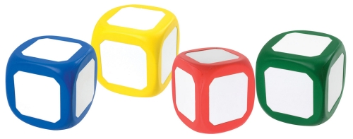 Student Learning Cubes - Set Of 12