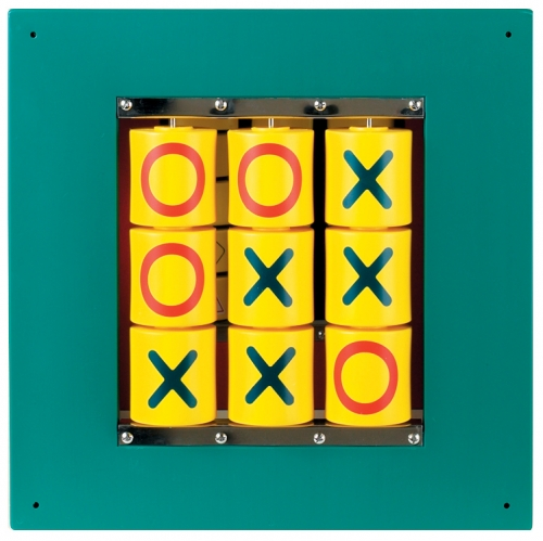 Busy Cube Tic Tac Toe Wall Panel