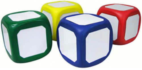 Teacher Learning Cubes - Set Of 4
