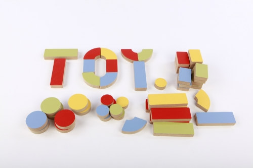Coloured Letter Blocks