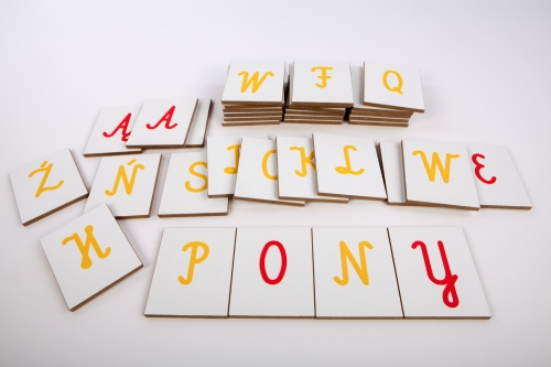 Tactile Letters Uppercase