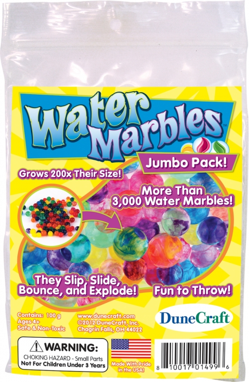 DuneCraft Jumbo Bag - Water Marbles