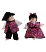 World Dolls - East Asian Pair