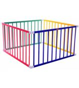 Boss Square Playpen - Coloured