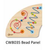 Classic World Beads Panel