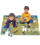 Farm Animal Foam Floor Puzzle